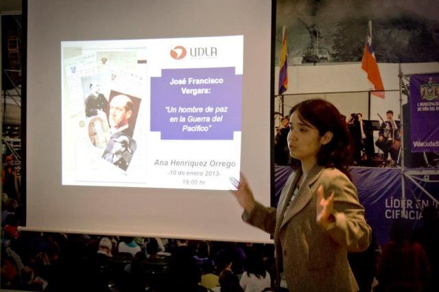 En Charlas Históricas de Reñaca - enero 2013