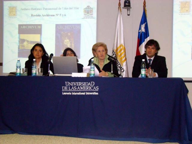 Presentacion archivo historico en u americas 2008