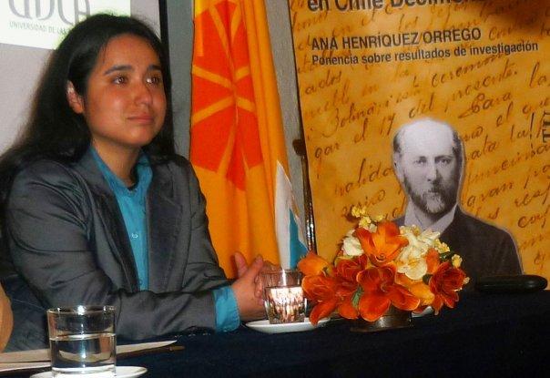 Ana Henriquez Orrego, ponencia JFV.