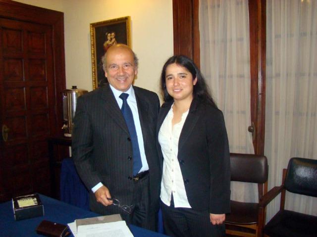 Don Santiago Lorenzo Shiaffino (Guia de tesis)  -  Ana Henriquez Orrego (Tesista)