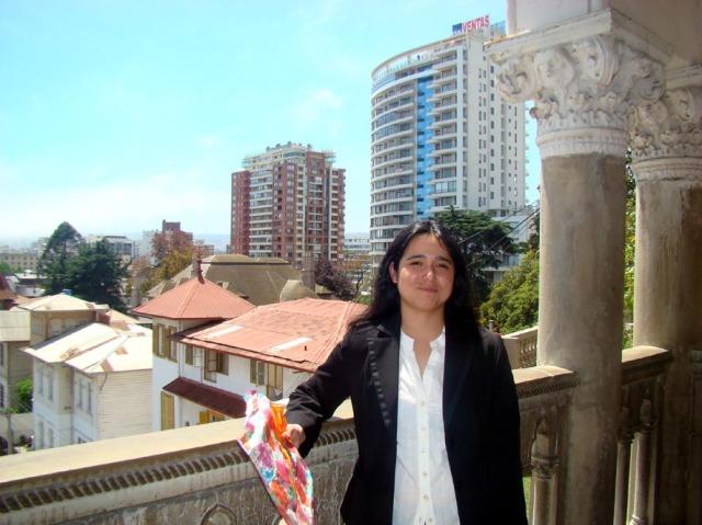 Ana Henríquez Orrego en el Instituto de Historia, PUCV. 30/10/09