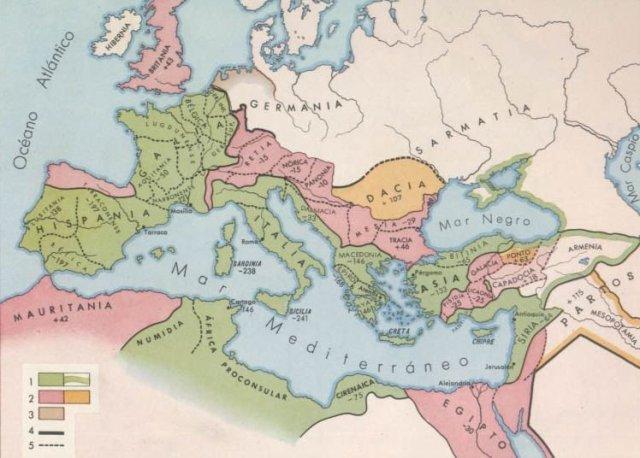 IMPRERIO ROMANO, SIGLO II D.C.