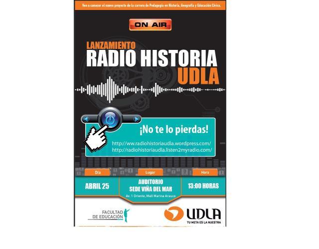AFICHE RADIO HISTORIA