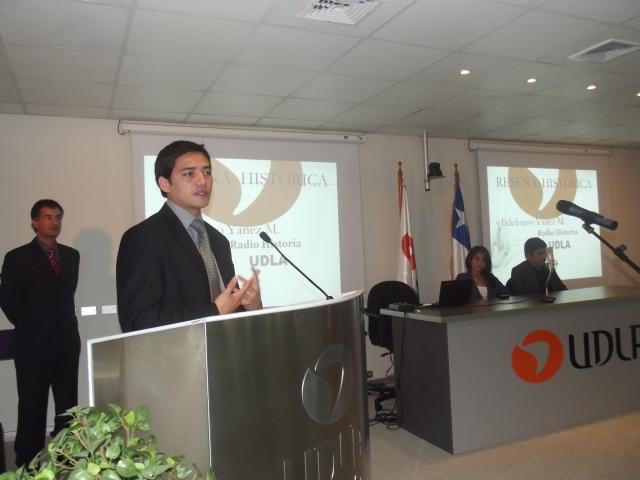 Ildefonso Yañez - RadioHistoriaUdla