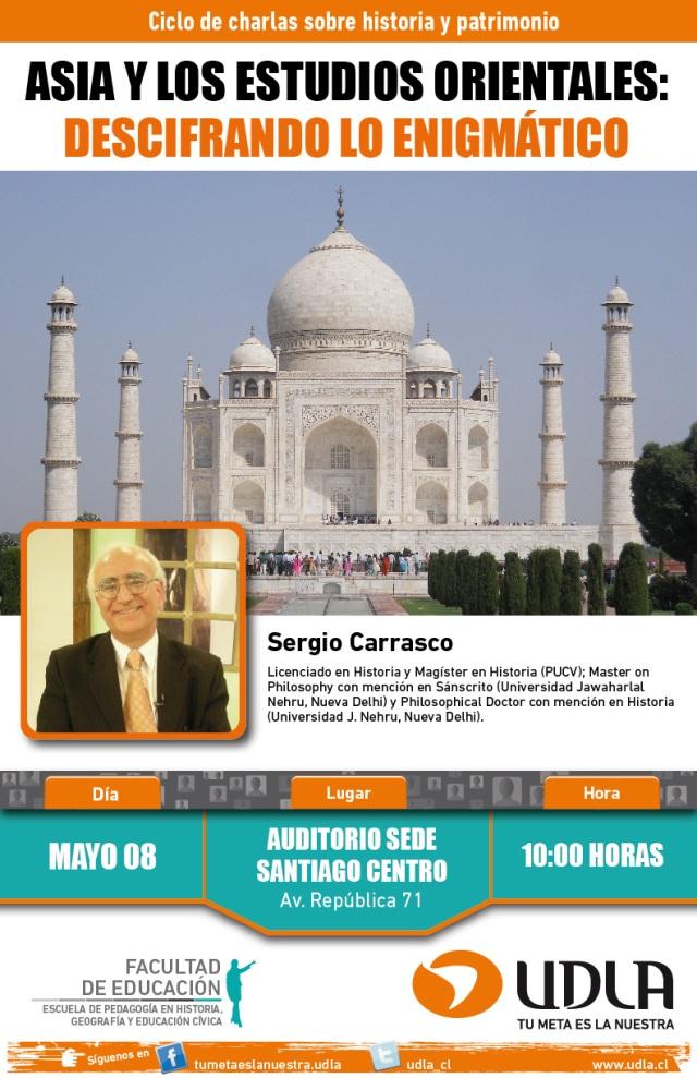 afiche ciclo de charlas historia y patrimonio SC-01