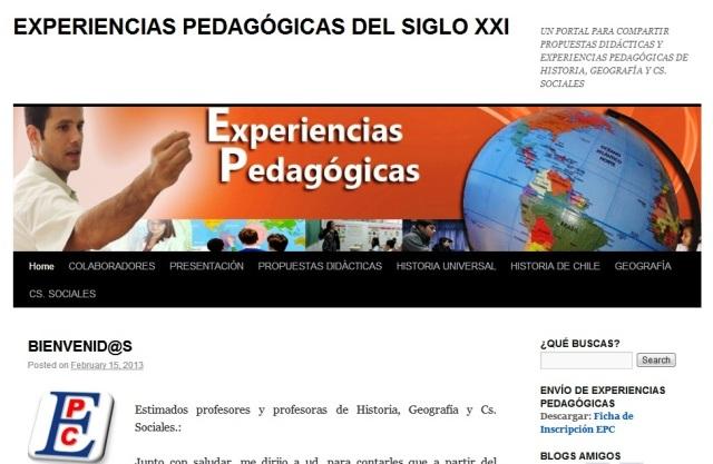 EPC Experiencias Pedagógicas Compartidas