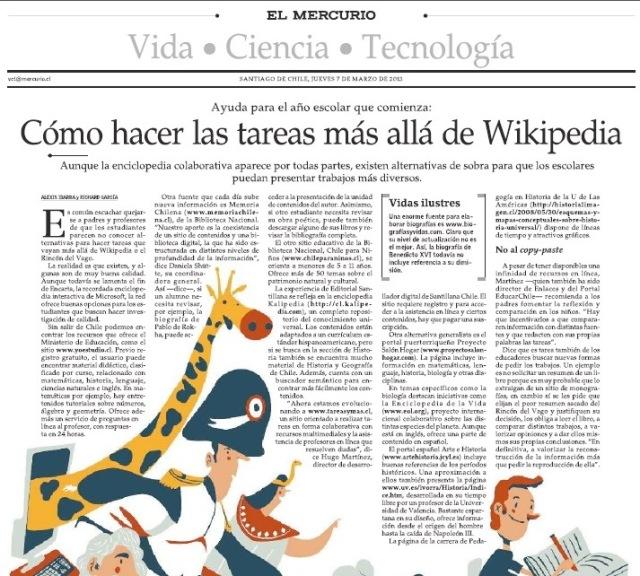 Cómo estudiar más allá de wikipedia