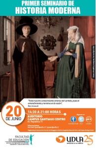 Afiche seminario historia moderna