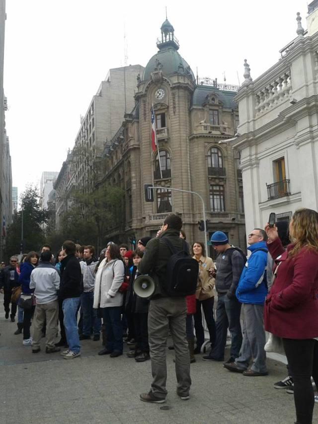 Barrio civico Santiago Chile