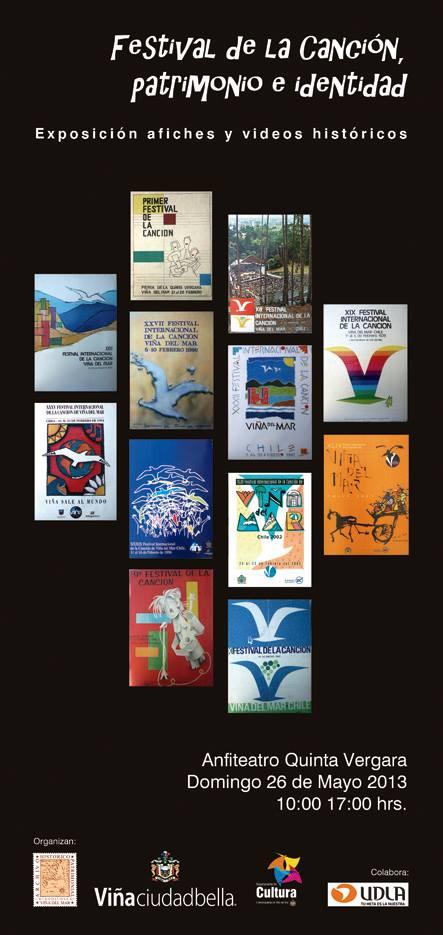 Afiche Archivo Histórico de Viña del Mar