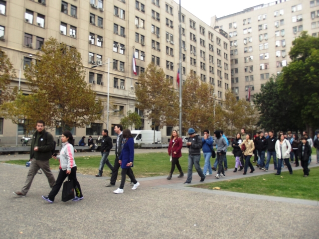 Caminando por Barrio Cívico
