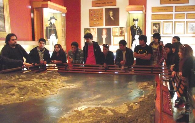 Interior Museo Naval Valparaíso