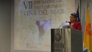 Discurso inaugural alcaldesa de Viña del Mar, Virginia Reginato, en VII Jornadas de Patrimonio de Vina del Mar