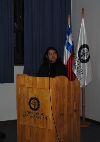 Ana Henriquez Orrego en Universidad San Sebastián
