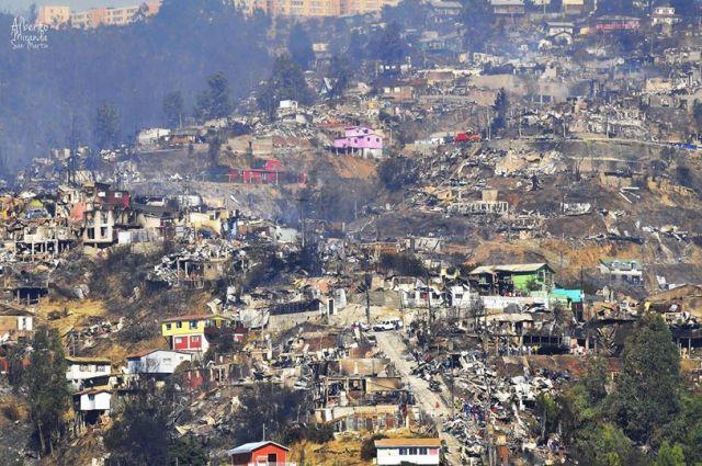 Valparaíso después de las llamas, 2014