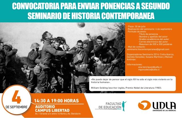 Seminario Contemporánea 2014