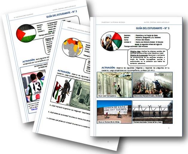 Guías de aprendizaje conflicto Palestina-Isrrael