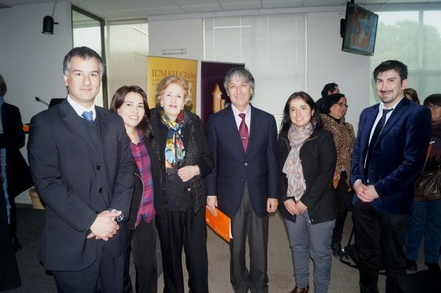 Autoridades Unidad de Patrimonio y Facultad de Educación UDLA