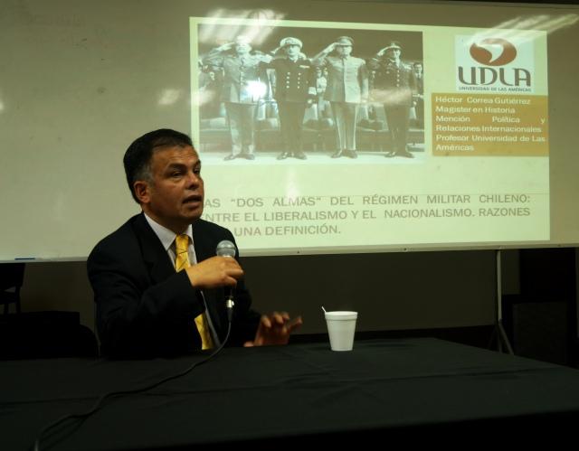 """Héctor Correa """"las dos almas del régimen militar chileno: entre el nacionalismo y el liberalismo..."""""""