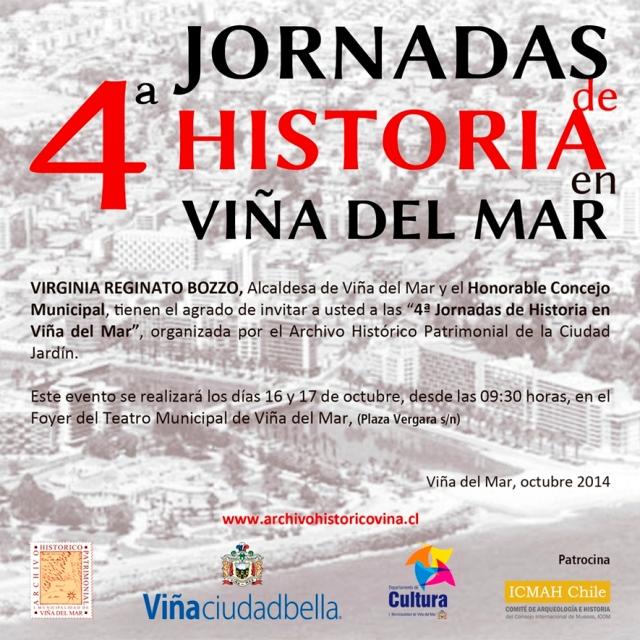 Jornadas de Historia Viña del Mar, 2014
