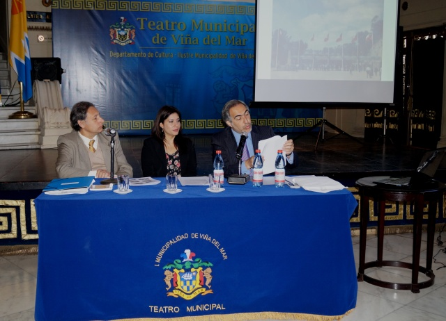 Jornadas de Historia - Lorena Brassea, Francisco Chahuan  y Jorge Salomó