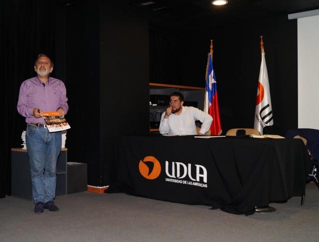 Jorge Rojas, invitado a charla inicial
