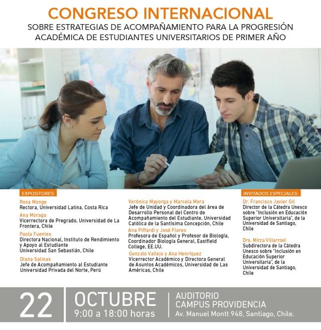 Congreso Internacional UDLA progresión Académica